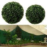 Kunstmatige groene gras bal Topiary opknoping Garland Home Yard bruiloft decoraties