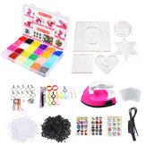 Children DIY Fuse Beads Set Non-Toxic Beads With Iron Educational kids Art Craft Puzzle Toys For Children Gift