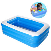 1.5 / 1.8 / 2.1 / 2.6m Children's Inflatable Swimming Pool Baby Paddling Pool Summer Swimming Pool