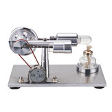 STEM Hot Air Stirling Engine Model Generator STEAM DIY Physics Science Experiment Kit