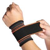 1PcsSuporteDePulsoMão Brace Nylon Mão Ajustável Brace Palm Pad Luva de Pulso Luva de Segurança Engrenagem