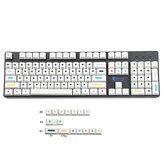 120 Keys Dot Keycap Set Cherry Profile PBT Sublimation Keycaps for Mechanical Keyboards