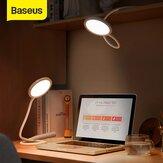 Baseus USB Light Hose Desk lampada Lettura Protezione degli occhi Touch Lampada da studio flessibile salvaspazio con cavo dati