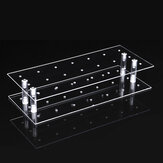 21 Holes Acrylic Transparent Lollipop Stand Party Candy Cupcake Display Rack