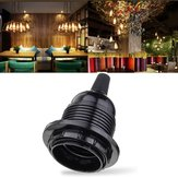 E27 Black Lamp Holder Socket for Vintage Industrial Hanging Pendant Ceiling Light