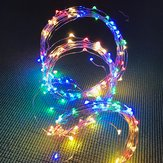ARILUX® Battery Powered 8 Modes ROGB 200LED Tree Vine String Fairy Light with IR Remote Control