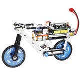 プログラマブルスマートRCロボットバイクカーセルフバランスカーAPPブルートゥースコントロール教育キット