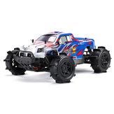 FS Racing 53692 RTR 1:10 2.4G 4WD Monster Truck sem escova de água modelo de veículos RC