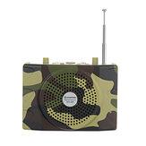 25W recargable camuflaje caza altavoz sonido señuelo 100Hz-10KHz FM Radio Reproductor de MP3 con Control remoto para la caza Reunión Guía Guía turística