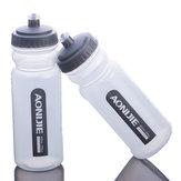 600ml Outdoor Transparante Waterfles Rijden Fietsen Lopende waterfles Sport Watter Fles