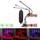 40/60 LEDs 360° Flexible Clip Lamp Plant Grow Full Spectrum Hydroponics Light for Greenhouse Growing