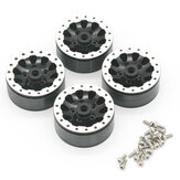 4PCS WPL Metal Wheel Hub for WPL 1/16 C14 C24 C34 C44 B14 B16 B24 B36 Racing Vehicle Models RC Car Parts