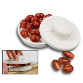 KCASA Rapid Slicer Food Cutter Slice Tomatoes Vegetables In Seconds Non-Slip Fruit Slicing Tools