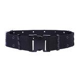 54cm Diameter Nylon Tactical Belt Inserting Quick Release Buckle Waist Belt