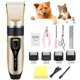 Professionele huisdier Kat Dog Clipper Grooming Trimmer Kit