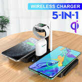 Bakeey 5-in-1 10W Wireless Charger Fast Charging Pad For IPhone XS 11Pro Huawei P40 Pro MI10 S20+ Note 20