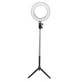 16cm 20cm 26cm 3500-5500k Photography Dimmable LED Selfie Ring Light Photo Studio Lamp With Phone Holder USB Plug For Video Live Blogger Photograph TikTok