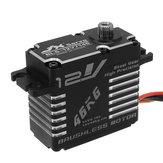 JX BLS-12V7146 46KG 12V 180 Degrees HV Steel Gear Digital Brushless Servo For RC Robot
