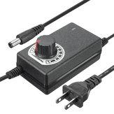 Excellway® 9-24V 1A 24W 1.1M Güç Kaynağı Motor Hız Kontrol Cihazı Ayarlanabilir AC / DC Adaptörü
