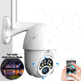 10LED 5X Zoom HD 2MP IP Security Camera WiFi sans fil 1080P Extérieur PTZ Imperméable Vision Nocturne ONVIF