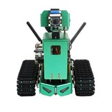 Yahboom Jetbot AI Robot 2Dof Standard Version Compatible with Jetson Nano 4GB B01 Board with HD Camera Coding with Python Support Gamepad Remote