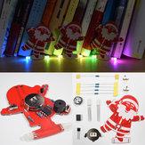 5pcs Geekcreit® DIY सांता क्लॉस क्रिसमस ट्री सजावट लटकन संगीत किट
