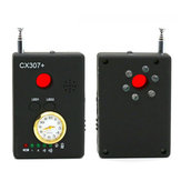 XANES CX307+ Full Range Wireless Signal Detector Bug RF Detector Camera Lens GSM Device Tracer Finder