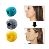 Jawzrsize Face Masseter Silicone Women Men Mouth Muscle Exerciser Chew Ball Chew Bite Breaker Training
