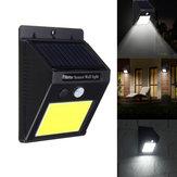 Солнечная Мощность 48 LED PIR Motion Датчик Настенный светильник Водонепроницаемы На открытом воздухе Сад Лампа