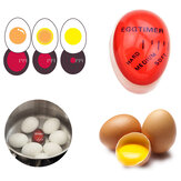 KC-008 1pc Egg Perfect Color Changing Timer Yummy Soft Hard Boiled Eggs Cooking Kitchen Resin Eggs Timer