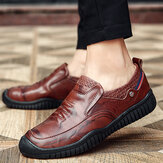 Casual Genuine Leather Oxfords Shoes