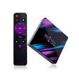 H96 MAX RK3318 4 Go RAM 64GB ROM 5G WIFI bluetooth 4.0 Android 9.0 10.0 VP9 H.265 4K TV Box Support Youtube 4K