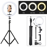 Bakeey 12inch LED Ring Light Lamps Dimmable Makeup Tripod Stand Ring Light For Live Video