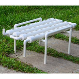 36 Holes Hydroponic Piping Site Grow Kit DIY Horizontal Flow DWC Deep Water Culture System Garden Vegetable