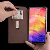 MOFIУдаропрочныйслотдлякартиз искусственной кожи с подставкой для всего тела 6868629 Для Xiaomi Redmi Note 7/Redmi Note 7 PRO