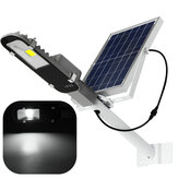 12W Solar Powered LED COB Luz controlada por carretera Sensor Street Road Light Impermeable por al aire libre Garden