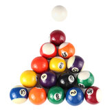 16pcs/set 25MM 32MM 38MM Resin Mini Billiard Pool Ball Children Table Game Toy