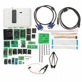RT809H EMMC-Nand Flash Kit de programador universal extremadamente rápido Programador + 29 adaptadores con cables