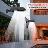 Solar 30 LED PIR Motion Sensor Outdoor Yard Gutter Garden Wall Light Waterproof Security Lamp