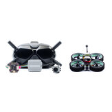 Diatone MXC TAYCAN 349 SW2812 LED DUCT 3 Inch 4S Freestyle CineWhoop FPV Racing Drone w/ DJI Air Unit & DJI Goggles Combo