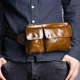 حقيبة كتف لون بني للرجال