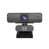 ASHU H701 1080P HD Microfone de redução de ruído digital com webcam Lente de foco automático Plug and Play com base multifuncional