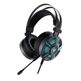 Rapoo VPRO VH510 Gaming Headset 7.1 Channel USB Surround Sound Breathing LED Backlight Headphone with Microphone for Computer Profession Gamer