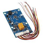 Sistema de porta da placa de controle de controle de acesso da impressão digital da fonte de alimentação do comutador K212