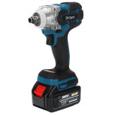 520N.M Torque 388VF Brushless Impact Wrench Cordless Rechargeable Electric Wrench Tool W/ 1/2x Battery