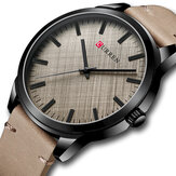 CURREN 8386 Casual Style Ultra Thin Men Wrist Watch Classic Leather Band Quartz Watches
