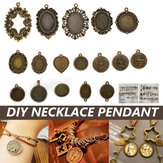 50g/Pack Vintage Pendant DIY Jewellery Making For Necklace Keychain Handcraft