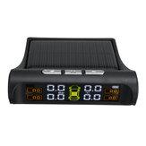 Sistema di monitoraggio della pressione dei pneumatici per auto wireless TPMS solare LCD con 4 sensori esterni