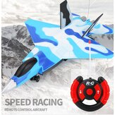 Speed Racing 220 mm spanwijdte 4CH / 2CH RC Gliding War Plane RTF Kinderspeelgoed