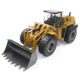 HuiNa Toys 583 6-kanaals 1/18 RC Metal Bulldozer Opladen RC Car Metal Edition